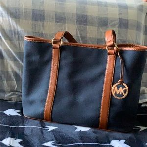 Michael Kors Canvas Tote.